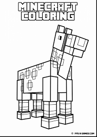 Spectacular Minecraft Coloring Pages Printable With Color And Free