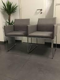 2 stühle mit armlehne für wohn küche esszimmer