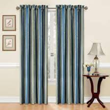 Blue Vertical Striped Curtains by Stripe Curtains U0026 Drapes For Less Overstock Com