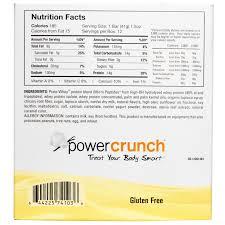 Power Crunch Bars Nutrition Facts Besto Blog