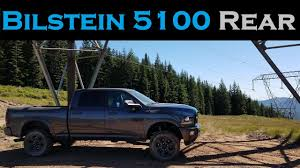 100 Truck Shock Reviews Bilstein 5100 Vs 4600 Rear S Upgrade And Review 2017 Ram