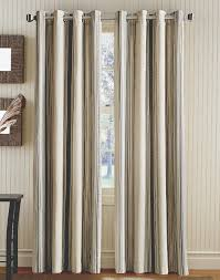 Vertical Striped Curtains Panels by Vertical Veranda Stripe Grommet Curtain Panel Curtainworks Com
