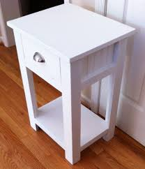 Bedroom 12 Inch Wide Nightstand White Home Architecture Pertaining