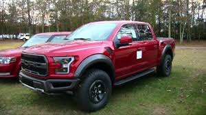 Here's A Sneak Peek Of The 2018 Ford Raptor In Ruby Red | Walkaround ... 2018 Ford F650 F750 Truck Photos Videos Colors 360 Views Raptor Lifted Pink Good Interior With 961wgjadatoys2011fdf150svtraptor124slediecast Someone Get Me One Thatus And Sweet Win A F150 2015 F 150 Vinyl Wrapped In Camo Perect Hunting Forza Motsport Xbox 15th Anniversary Celebration Model Hlights Fordcom 2019 Adds More Goodies For Offroad Junkies Models Prices Mileage Specs And