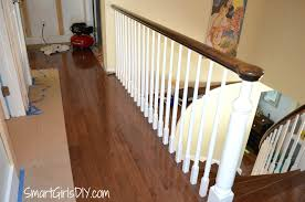 Replace Banister And Spindles Upstairs Hallway 2 Hardwood Spindles ... Diy How To Stain And Paint An Oak Banister Spindles Newel Remodelaholic Curved Staircase Remodel With New Handrail Stair Renovation Using Existing Post Replacing Wooden Balusters Wrought Iron Stairs How Replace Stair Spindles Easily Amusinghowto Model Replace Onwesome Images Best 25 For Stairs Ideas On Pinterest Iron Balusters Double Basket Baluster To On Tda Decorating And For
