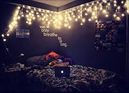 Decorate Your Bedroom With Led String Lights To Create A Warm And