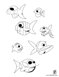 Coloring Pages Ocean Animals Free Printable Preschool Life Moray Eel Fishes Page Animal Sea Full
