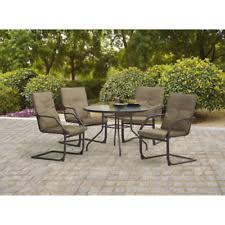 5 Piece Bar Height Patio Dining Set by Mainstays Palmerton Landing 5 Piece Bar Height Patio Dining Set