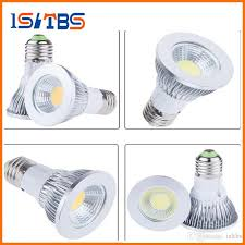 par20 led light bulbs e27 e26 10w dimmable led bulbs cob led spot