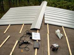 An inexpensive metal roof you can install yourself