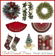 Kmart Christmas Tree Skirt by Best Dressed Home Sweepstakes Kmart And Sears Momtrends