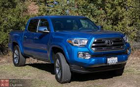 2016 Toyota Tacoma Limited Review – Off-road Taco Truck [Video]