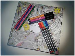 Coloring Books And Pens