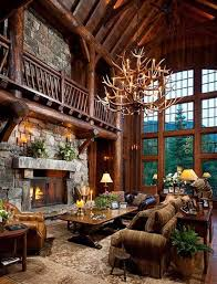 Rustic Family Room Decorating Ideas