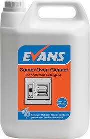 100 Evans Glass Cleaner Vanodine Combi Oven 5ltr