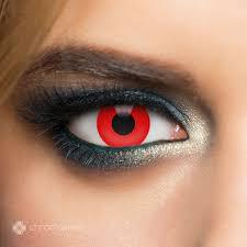 Zombie Red Chromaview Fashion Contact Lens EMP