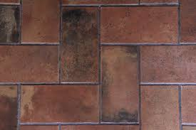 Brick Texture Close Up Red Black Stone Flooring Stock Photo