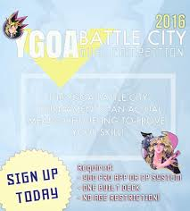 Yugioh Deck Tester App by Ygoa Battle City Tournament 2016 Ygo Amino