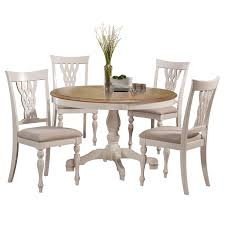 Shop Hillsdale Furniture Embassy White 5-piece Round Dining Set - On ... Live Edge Acacia Wood Iron 106 Ding Table W 5 Chairs Bench Signature Design By Ashley Charrell Piece Round Set Hooker Fniture Archivist With Pedestal Shop Picasso Pc Kitchen Table Set Leaf And 4 Plainville Settable Vintage Joanna Vintagrpjoannatbl5 Leg Side Detail Feedback Questions About Goplus Pcs Black Room Boconcept Granada Extendable Aptdeco Coaster Barzini Leatherette Mix Match 150041 Counter Height Dunk Costway Metal Canterbury Extension Noa Nani