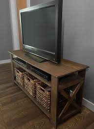 Rustic Pallet TV Stand Plans Diy Corner Tv Ideas