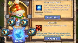 Castle Clash Pumpkin Duke Best Traits by Snowzilla Level 200 Evolved Cracked Out Raiding Zerk With Sprint