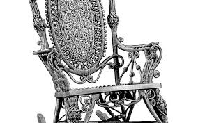 Wicker Furniture Started On Docks Of Boston In 1844   INFORUM Cherry Wood Antique Rocker With Inlay Collectors Weekly Help Me Safely Disassemble A Rocking Chair Fniture Dit Early 19th Century Decorated Boston Rocker This Is Depop An Federal Style Faux Bamboo Antique Rocking Chair Stock Photos 19thc Original Black Painted And Stenciled Fruit Vintage Childs Bostonstyle The Great Toward The Truth About American Rockers Trader Antiques Atlas