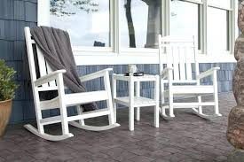 Rustic Wooden Rocking Chairs Outdoor