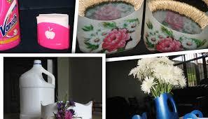 Napkin Holders Made Of Plastic Bottles Course I Love Handicrafts