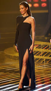 Nicole Scherzinger Shower by Nicole Scherzinger Steals The Show In A Sweeping Gown On The X