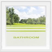 badezimmer fensterfolie als sichtschutz