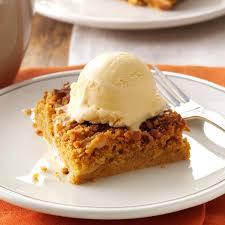 Healthy Pumpkin Desserts by Great Pumpkin Dessert Recipe Taste Of Home