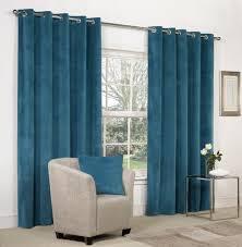 blue velvet curtains amazon co uk