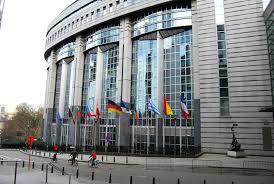 siege parlement europeen les bâtiments européens lumières de la ville