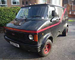 Bedford CF2 Van: Ebay: Bedford CF2 A-Team Van