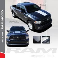 100 Dodge Ram 1500 Trucks Hood Stripes RAM RAGE HOOD 20092017 2018