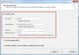 Connecting Outlook to a Microsoft fice 365 Mailbox