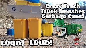 CRAZY Toy Garbage Truck MONSTER TRUCK Sounds SMASHES Trash Cans L ... Seattle Garbage Truck In Action Youtube Fast Lane Pump Toysrus Garbage Truck In Action Wvol Friction Powered Diecast Display Model Kids Every Drivers Dream 4x4 Man Day Trucks Bwp Ad Agency Utah Advertising Videos For Children Big From The Compact Diamondback To Megasized Mammoth New Way Rc206 Waste Management Inc Toys