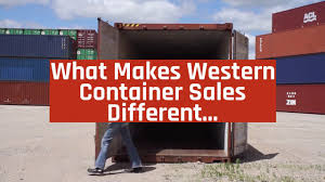 100 Steel Shipping Crates What Makes Western Container Sales Different Company Information Video
