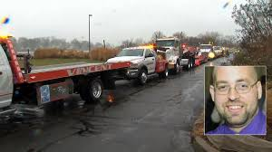 Tow Truck Drivers Descend On I-95 To Mourn One Of Their Own ... Trucking Jobs Current Truck Driver Yakima Wa Floyd Salary How Much Do Truckers Make Class A Drivers Pickup Killed When Vehicle Crashed Off Road Into Ditch Eating Healthy And Staying Fit Over The Tmc Habitat Advocate All Night Truck Driving Truckings Top Rookie Nominee Shawna F An Overtheroad On Among Fields Stock Photo 583622419 Shutterstock Offroad Snow 3d App Ranking Store Data Annie 5 Of The Best Paid Driving Aggressive Drivingroad Rage Dennis Seaman Associates Grand City Oil 3d Android Apps On Google Play