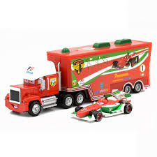 Jual Mainan Cars 3 Lightning McQueen Truck Uncle Mack The King Doc ...