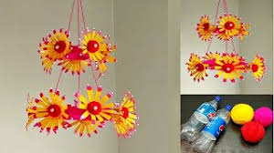 DIY Best Out Of Waste Plastic Bottles And Wool Reuse Idea