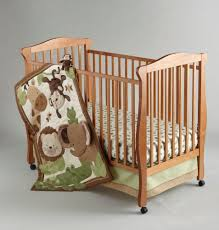 little bedding by nojo 4 piece safari baby crib set