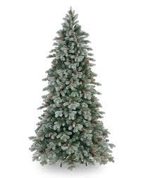 Slim White Flocked Christmas Tree by Slim Christmas Trees U2013 Happy Holidays