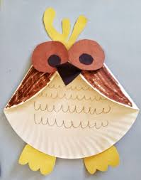 Fun Activities For Kids Paper Plate Owl Craft