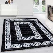 teppiche modern designer wohnzimmer kurzflor real de