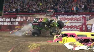 100 Monster Truck Orlando Jam Grave Digger Freestyle In FL Jan 26 2013