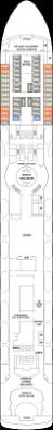 Norwegian Jewel Deck Plan 5 by Norwegian Sky Cruise Ship Deck Plans Norwegian Cruise Line