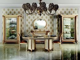 arredoclassic sinfonia esszimmer komplett vitrine stühle tisch barock rokoko