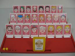 Milton Bradley Guess Who Game