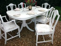 Shabby Chic Dining Chairs Great Table And Ebay